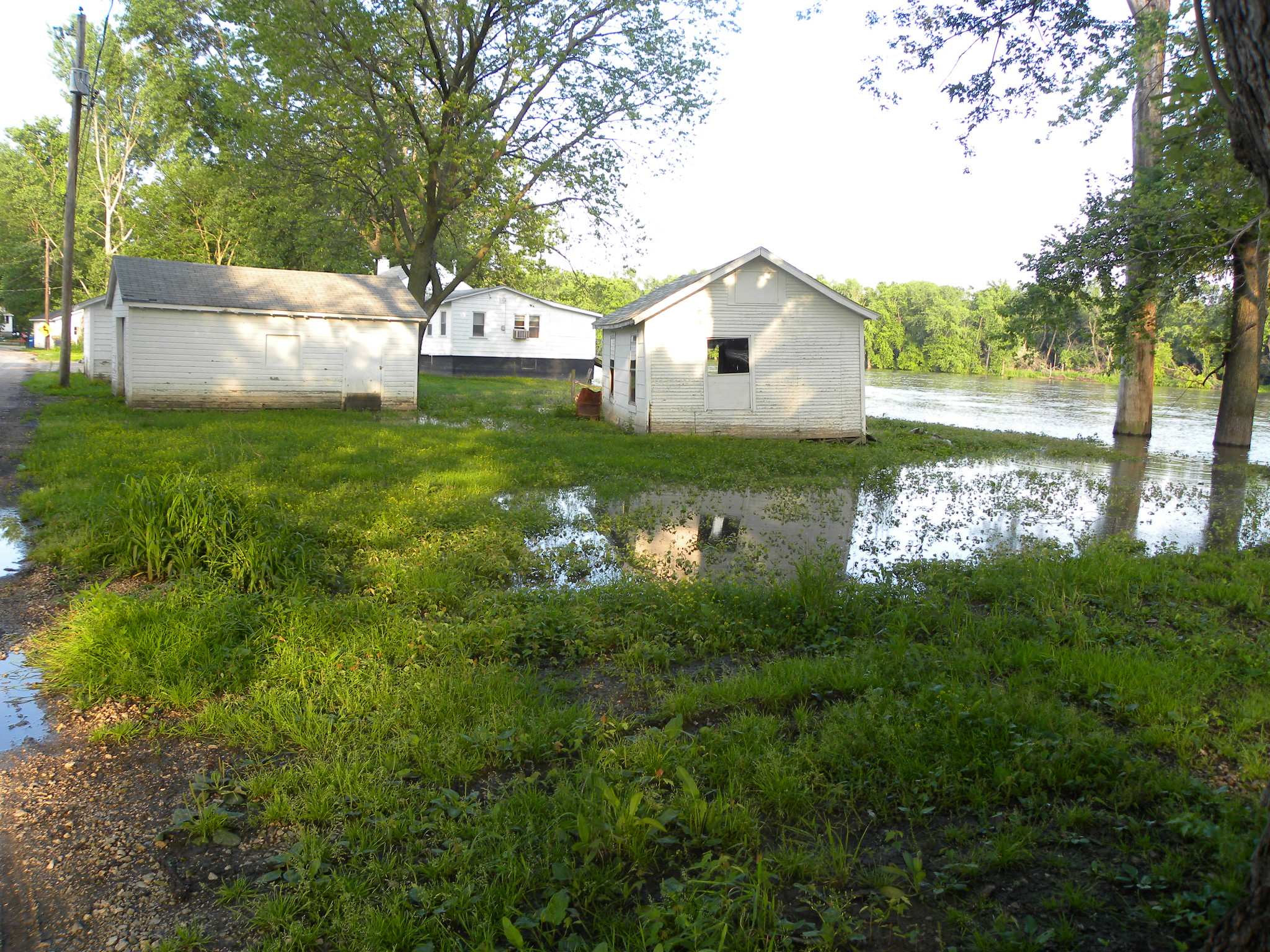Worsening floods result from increased development upstream on the Rock River.