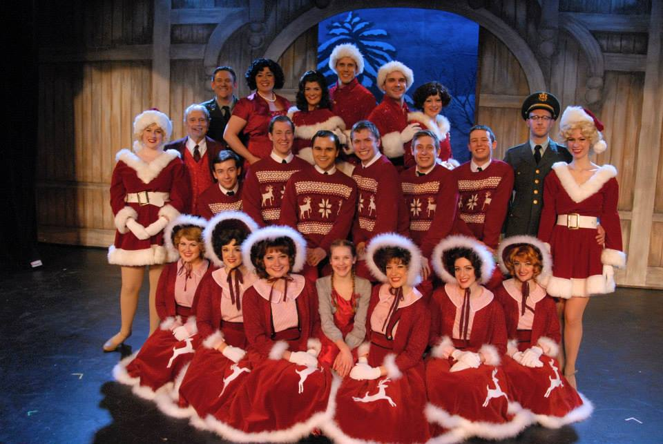 Betty Haynes in White Christmas with the Lakewood Theatre