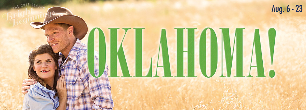 Dru stars as Laurey in Oklahoma!