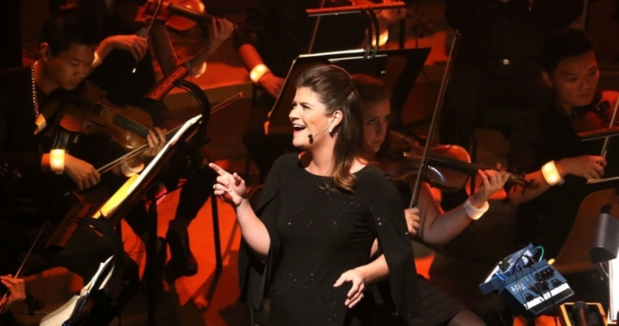 Dru Returns to the New World Symphony in Miami