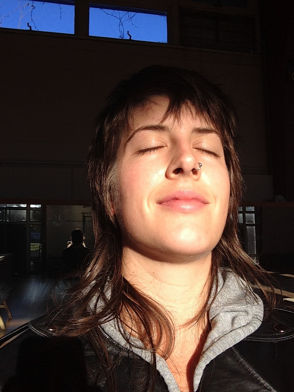 The morning sun in the gym at Keep Colony is as comforting to me as the embrace of friend or lover