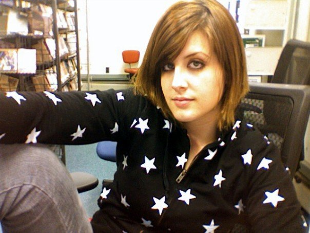 Circa 2007 - I still wore make-up and clearly had a 'tude.