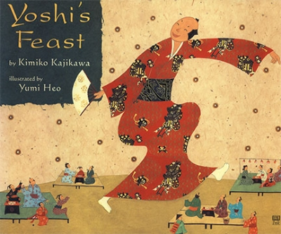 Yoshi's Feast, by Kimiko Kajikawa, DK, 2000  2001 Charlotte Zolotow Highly Commended Book  2001 Bologna, Illustrators of Children's Books  2001 Children's Books of Distinction Awards: RiverBank Review's  2001 Teacher's Choices: International Reading Association  2001 Vermont's Picture Book Award: Red Clover     review   Publishers Weekly