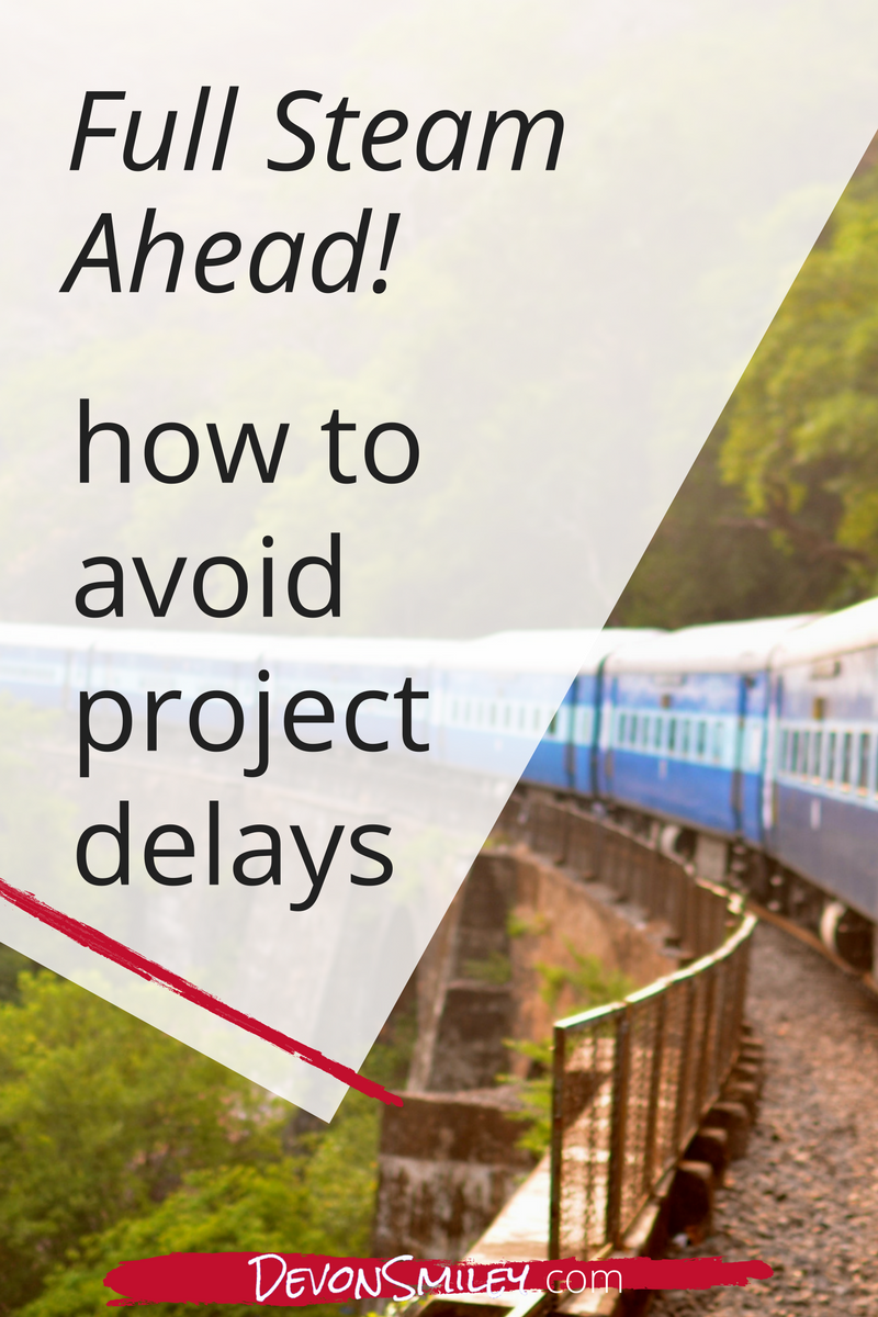 how to avoid project delays