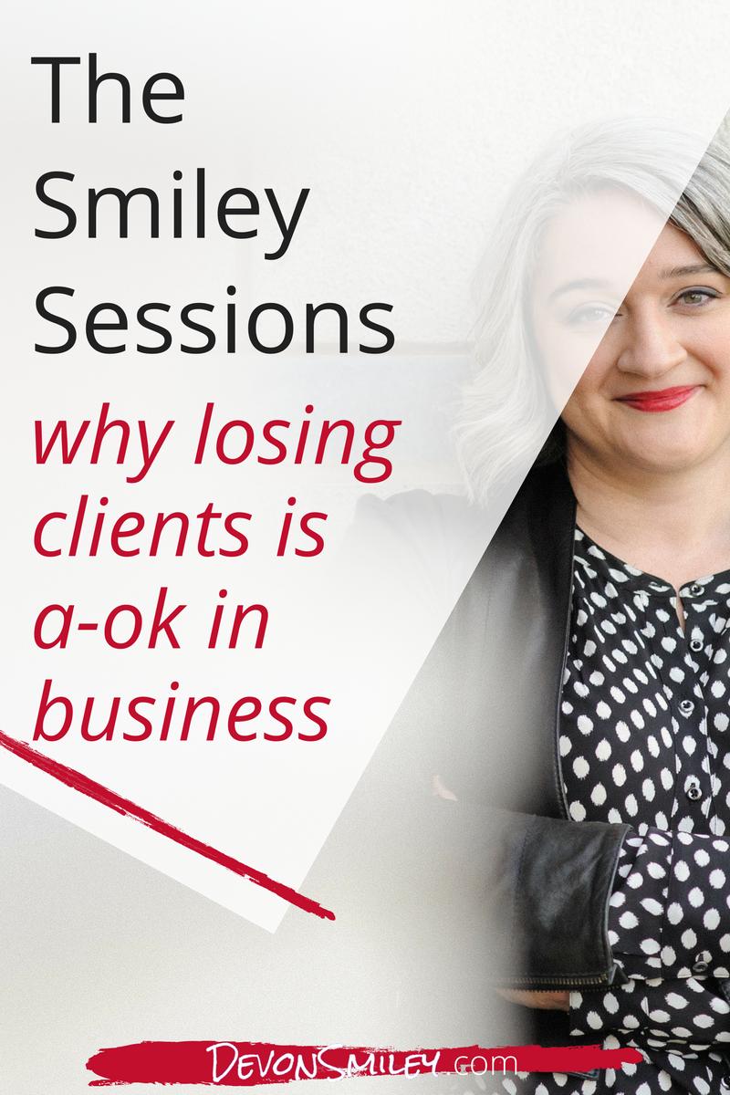 why it's ok to lose clients when you raise your prices