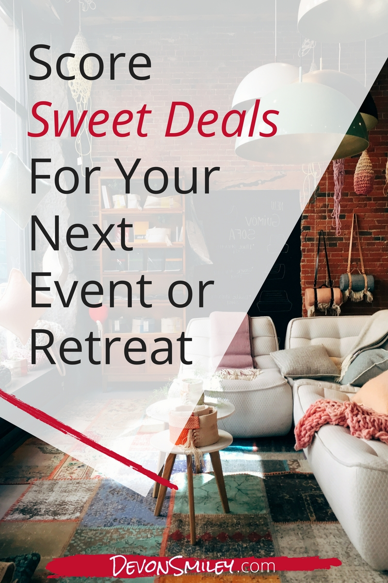 how to run a profitable retreat or event in business