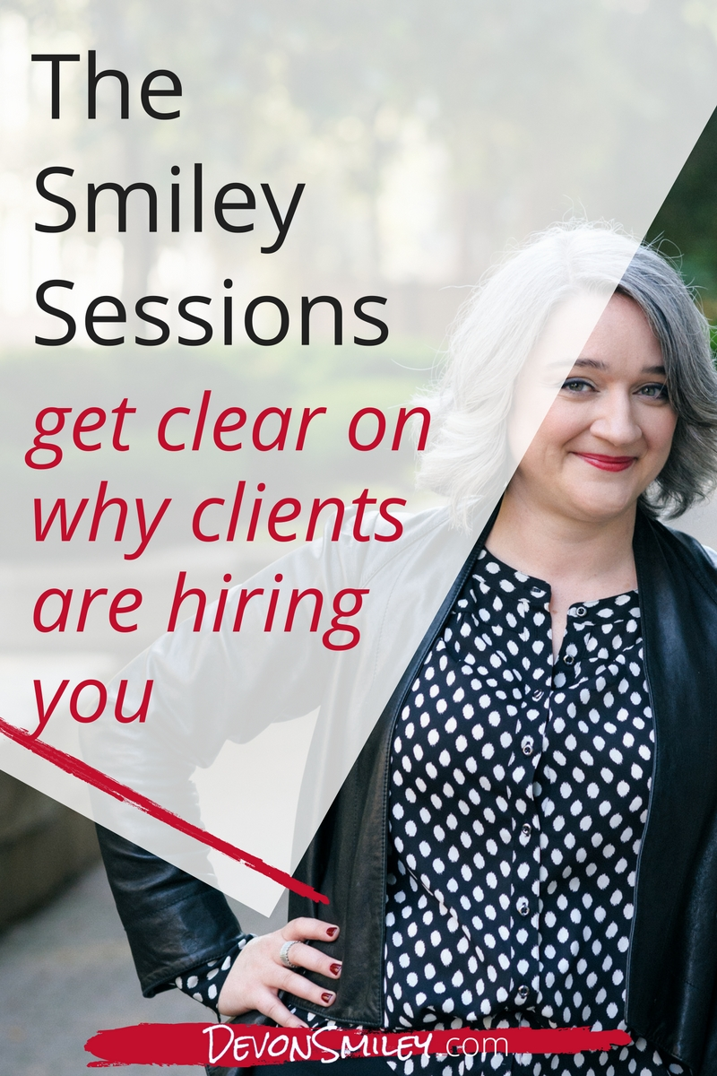 make sure you know what your clients want