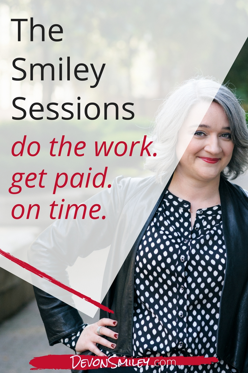 Smiley Sessions Avoid Late Payments