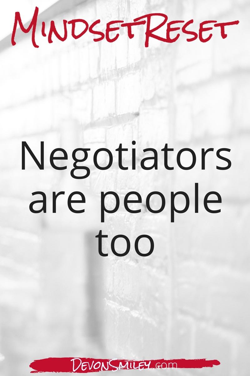 building relationships when negotiating