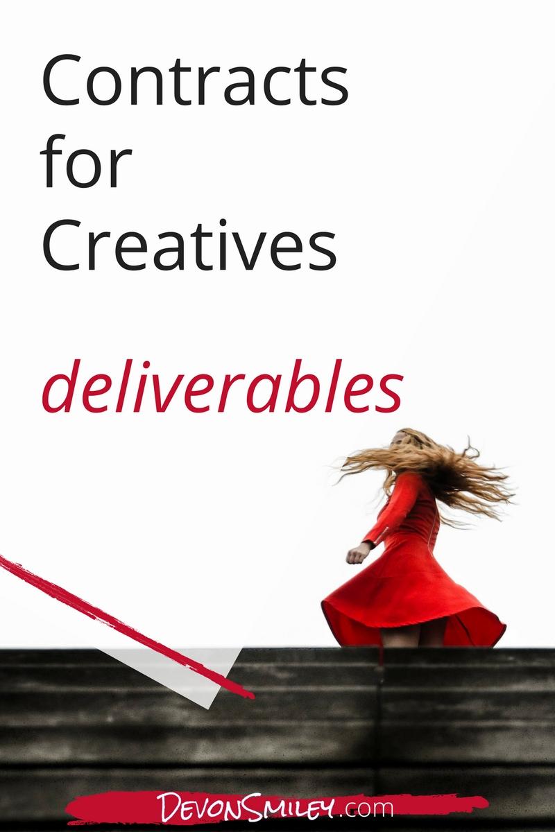 Contract advice for creative entrepreneurs