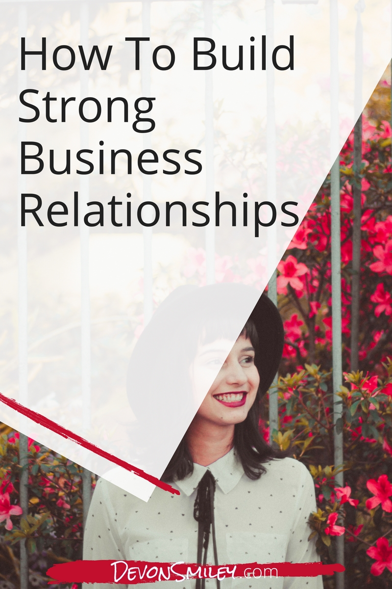 With the right care & attention, you can ensure that your business relationships bear fruit.