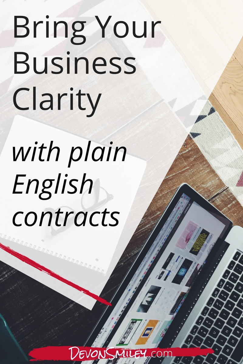 Put on some tunes and shake off that legalese. Draft your contracts with plain English to improve clarity and boost connection with your clients, vendors or partners.