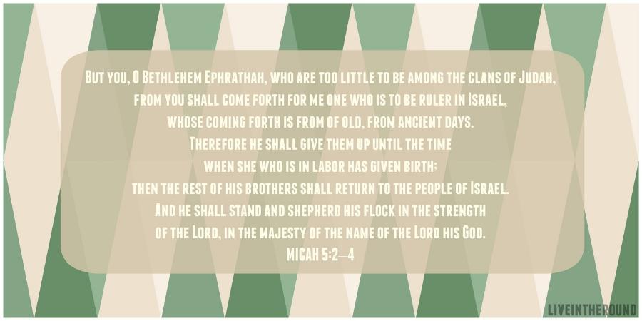 Micah 5:2-4