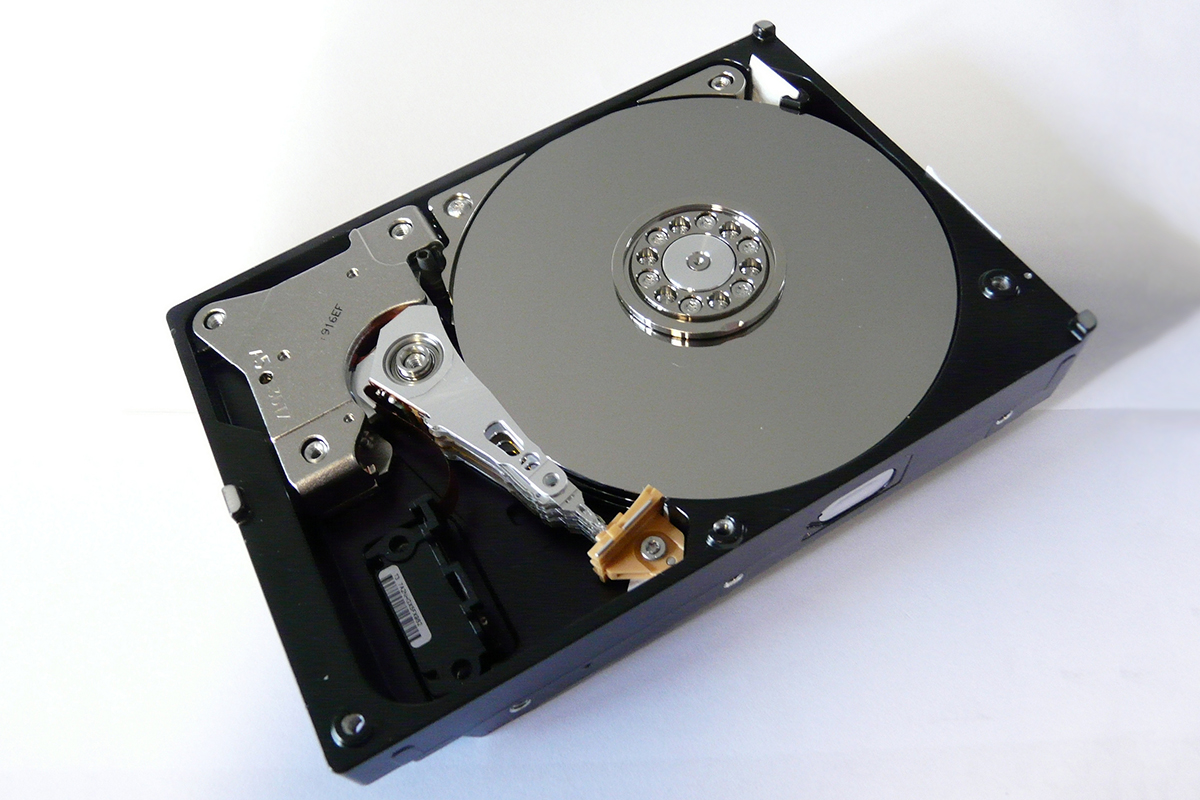 Not the actual hard drive in question. Photo credit:   KUERT Datenrettung