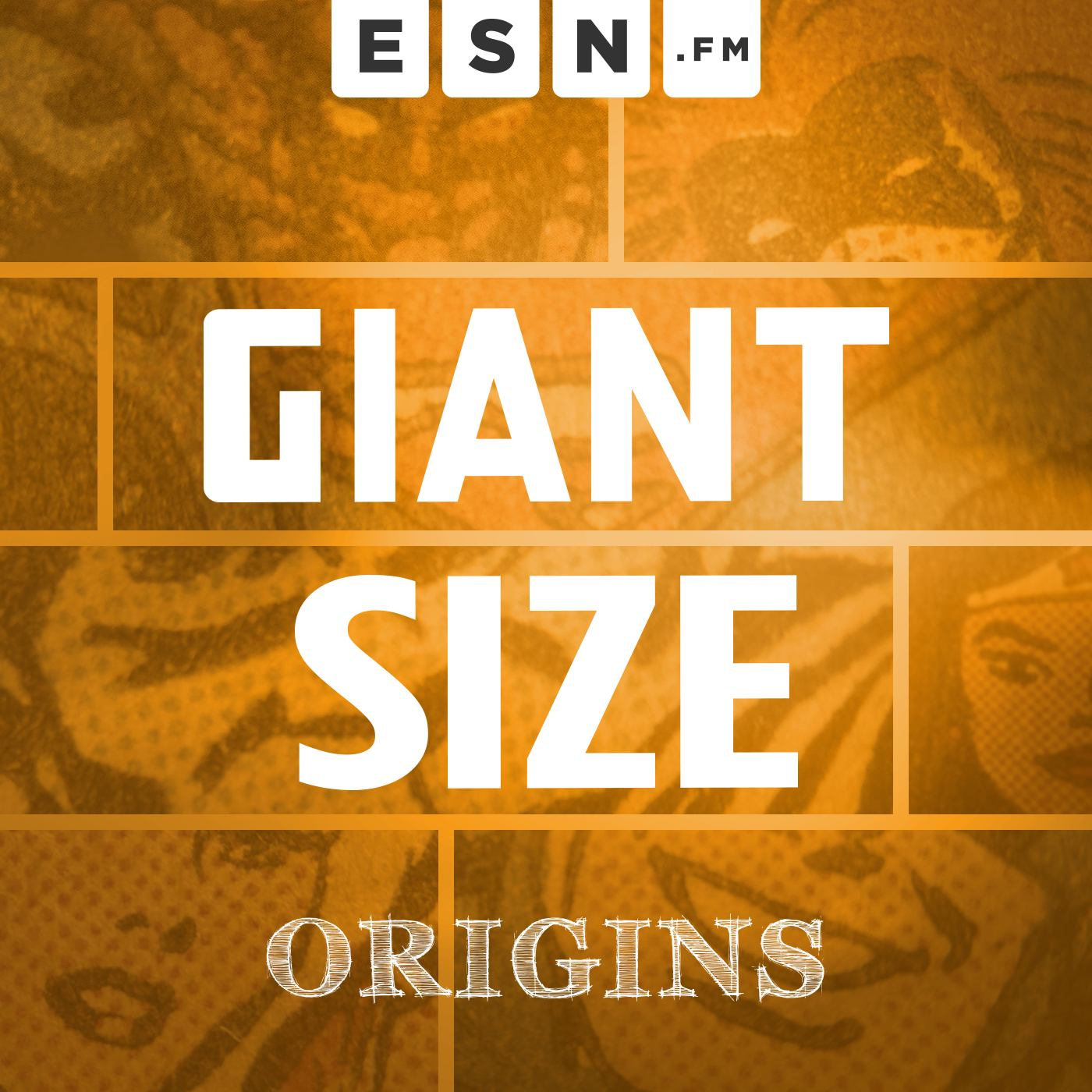"Remastered & ""reprinted"" from the original ""Vol. 1"" run of Giant Size."