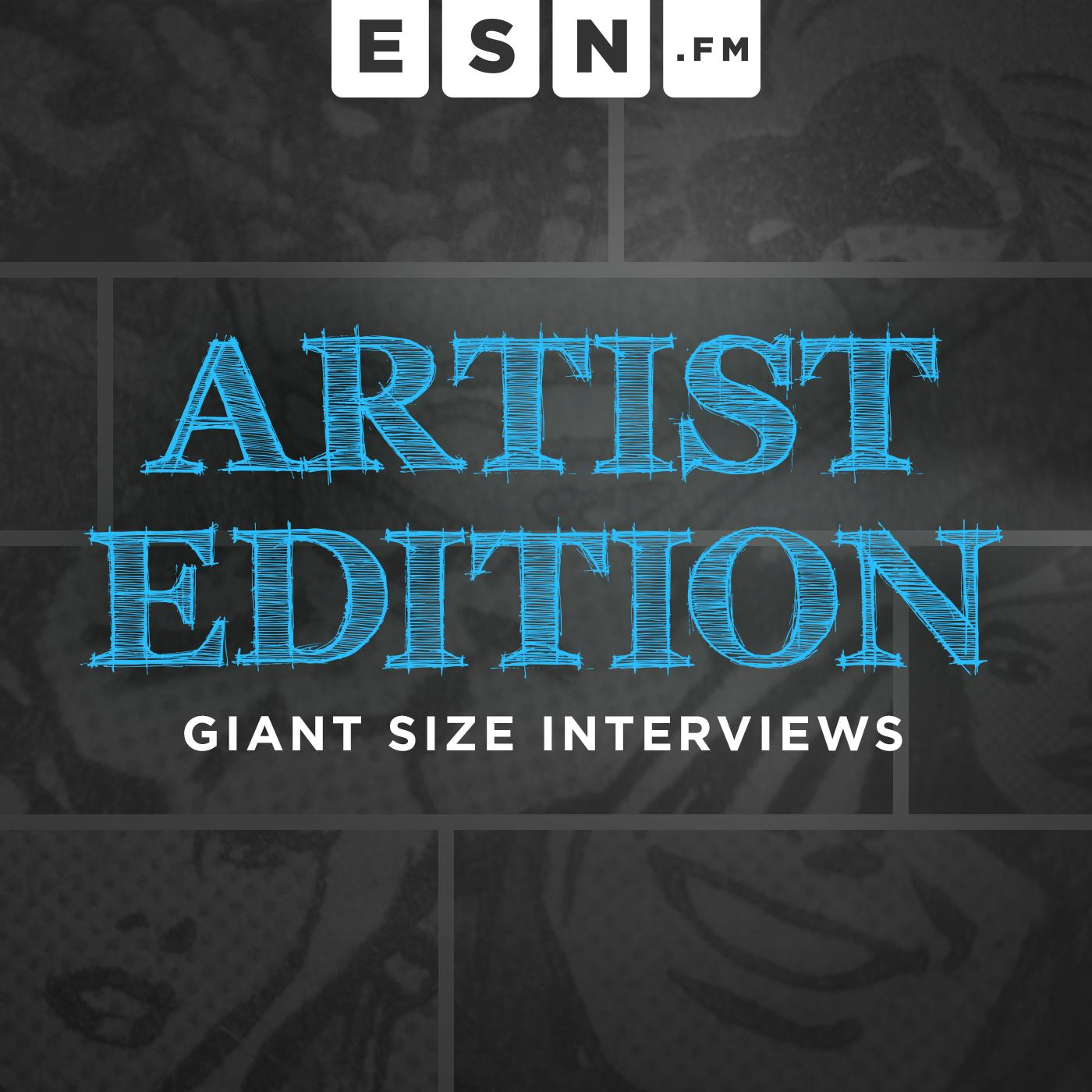 Uncut interviews with comics creators featured on Giant Size.