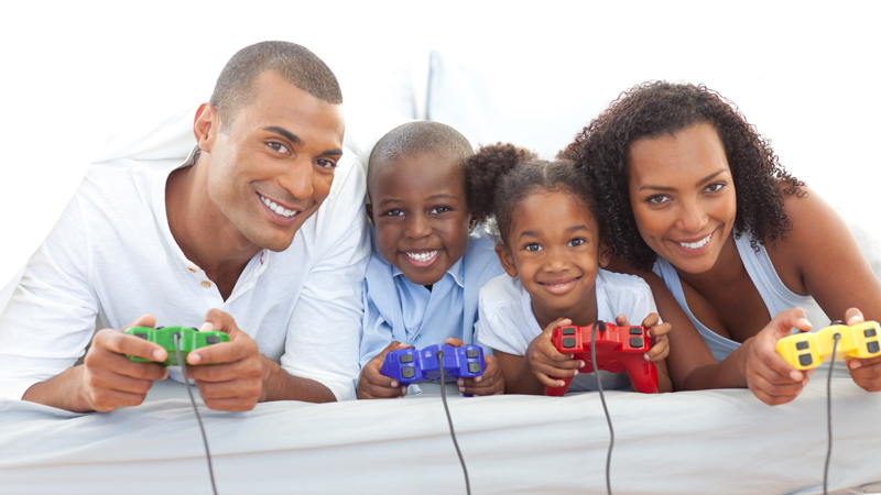The family that games together something something