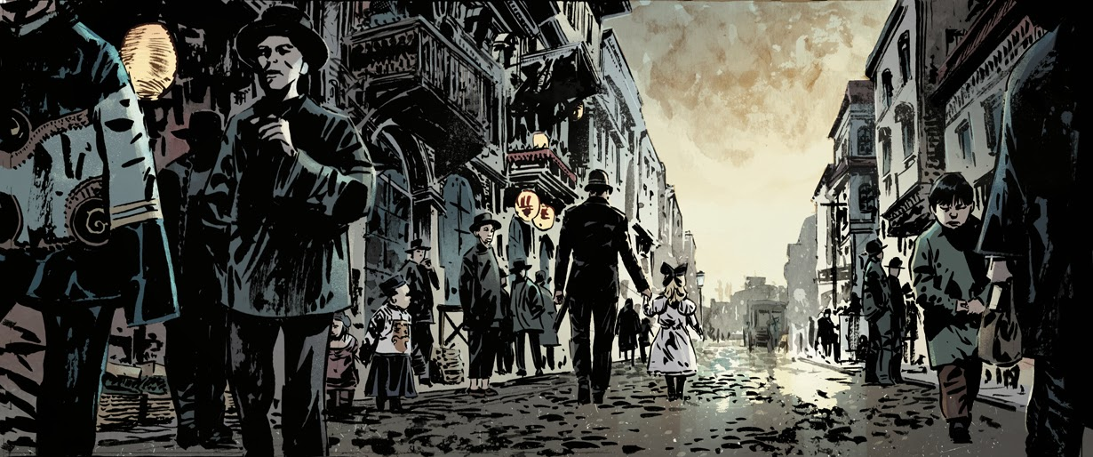 from  The Crooked Man , by Hardman/Bechko/Breitweiser