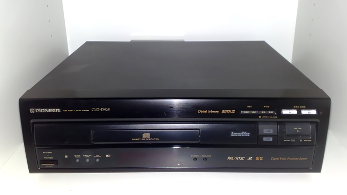 Kids, this is a LaserDiscplayer