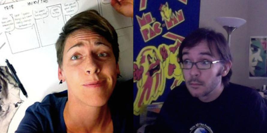 Danielle Corsetto  &  Rich Stevens