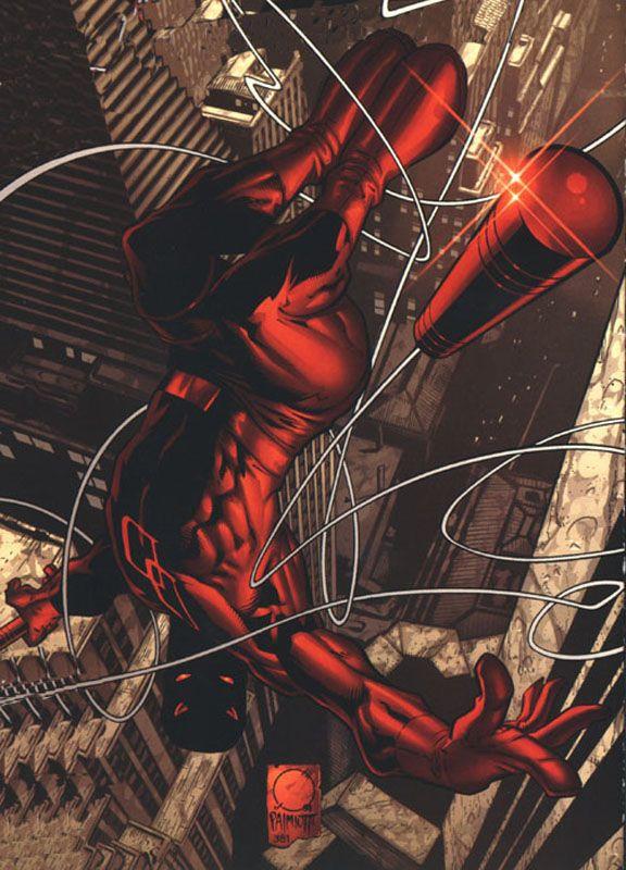 Daredevil art by Joe Quesada & Jimmy Palmiotti