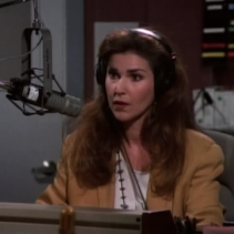 "Peri Gilpin playing Roz Doyle on  Frasier  Not an actual photo of ""Roz"""