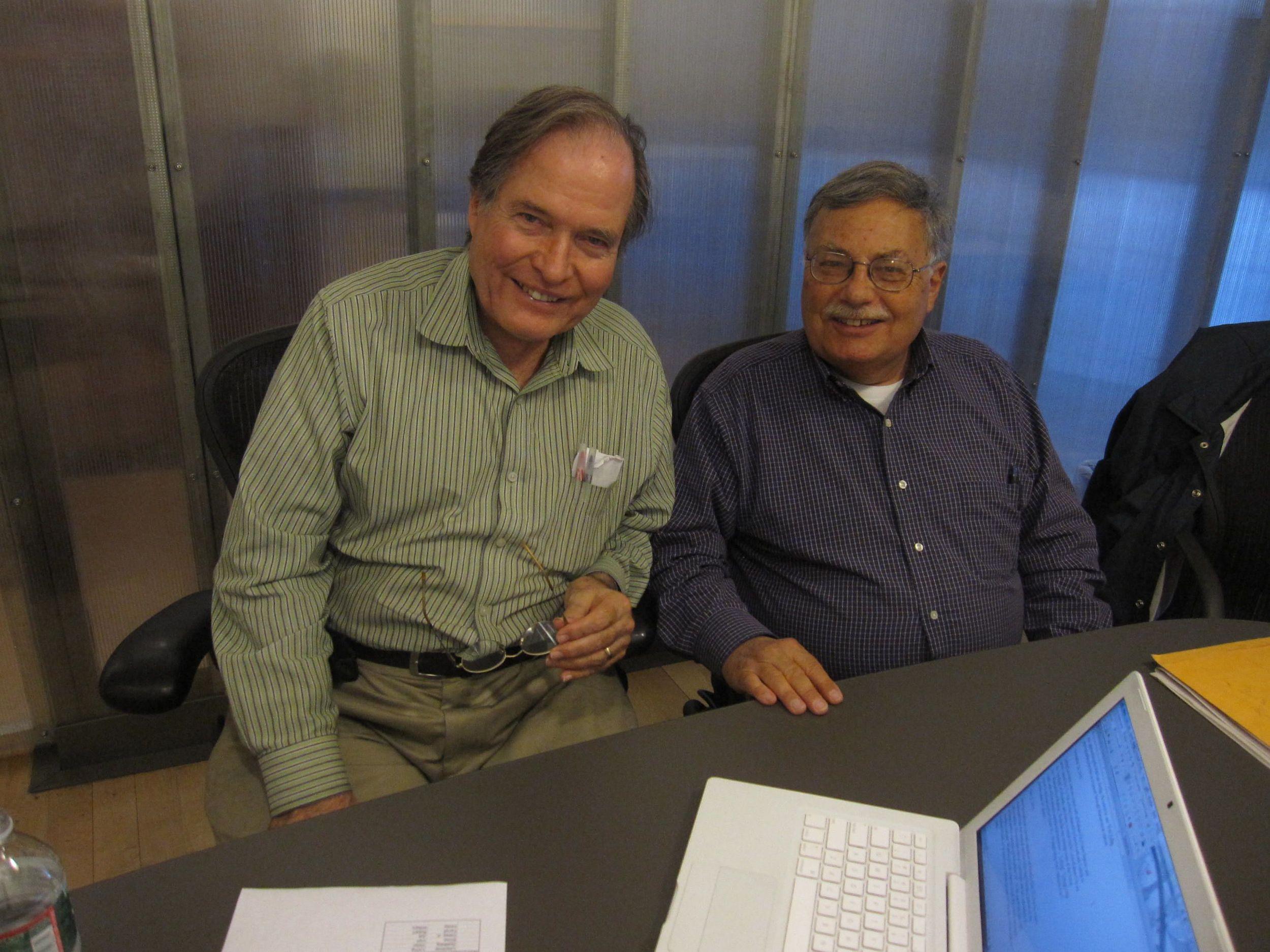 Al Holtz and Walter E. Zullig, Jr., July 2012.
