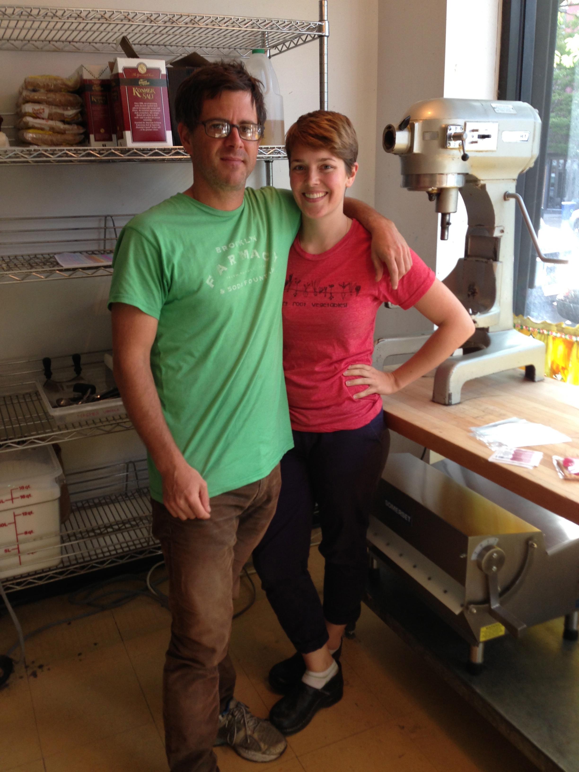 Paul Jones and Meghan Ritchie, Sept. 2013