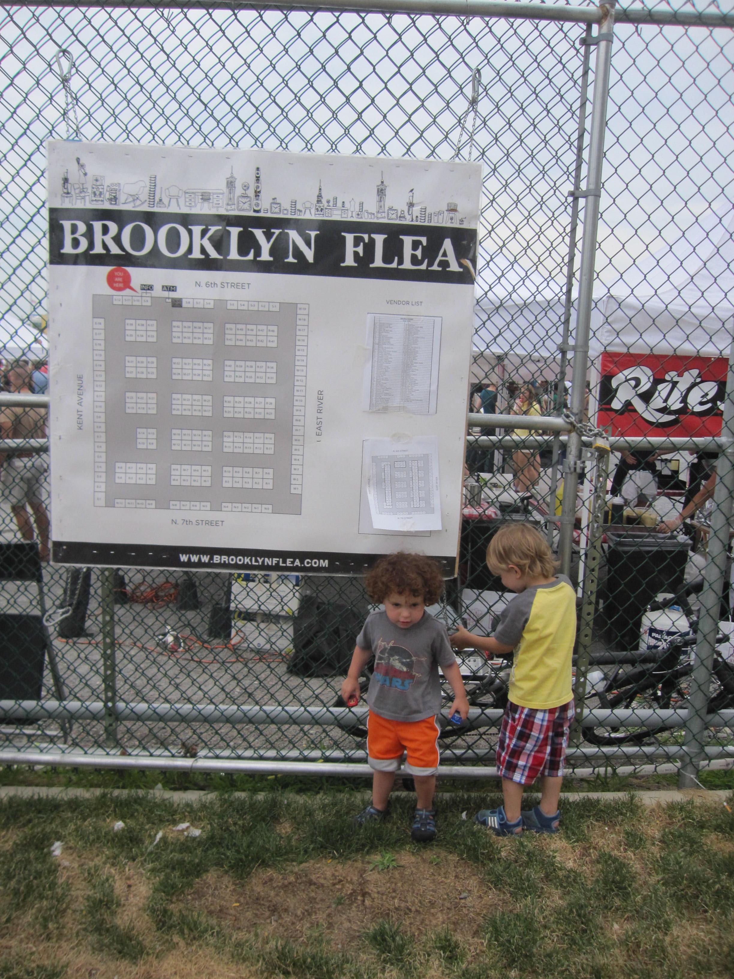 Brooklyn Flea/Smorgasburg (outdoor), East 5th Street, Williamsburg