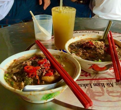 Penang Asam Laksa is   number 7   on CNN's World's Top 10 Yummiest Food