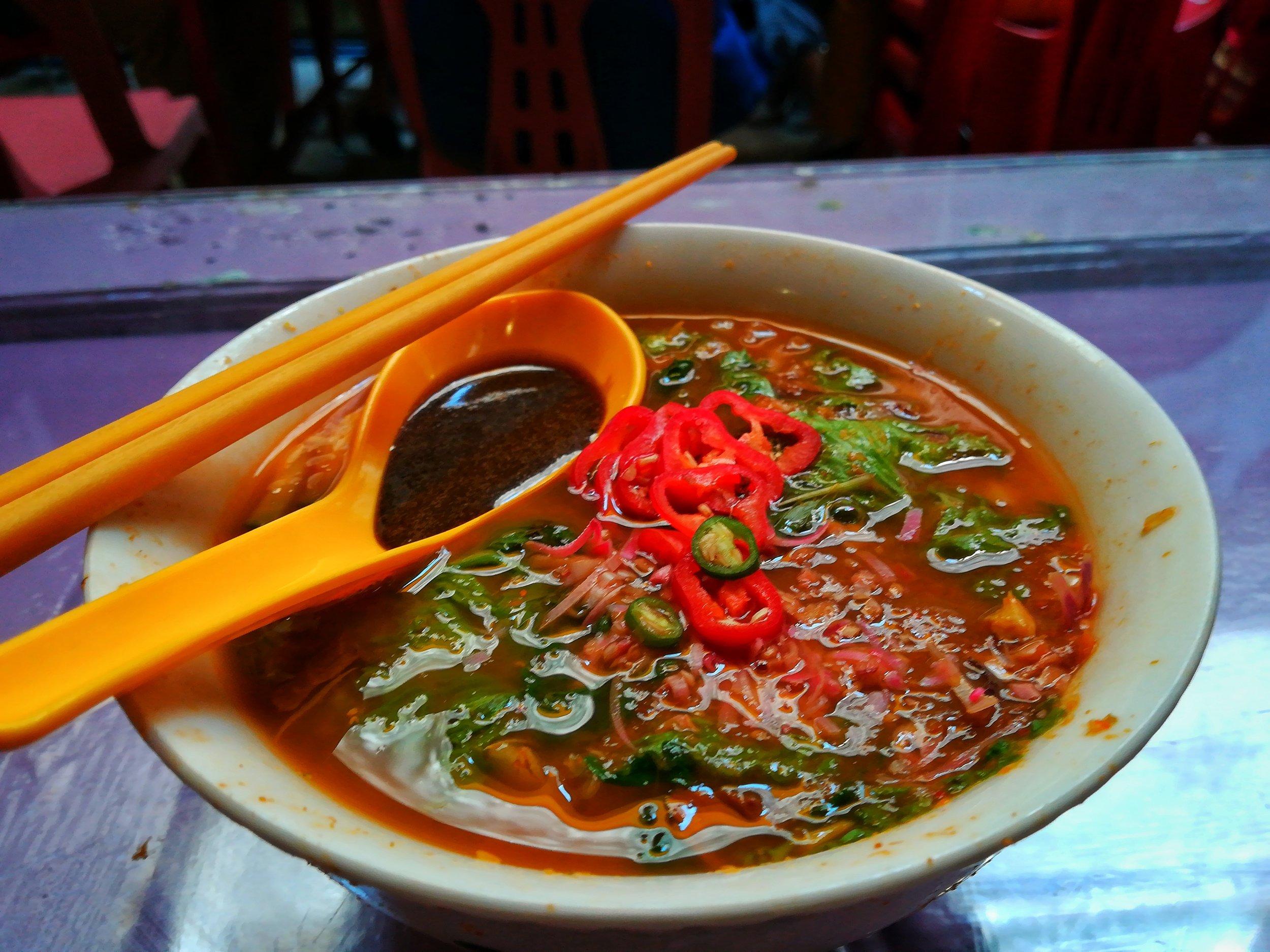 hop penang food assam laksa 1