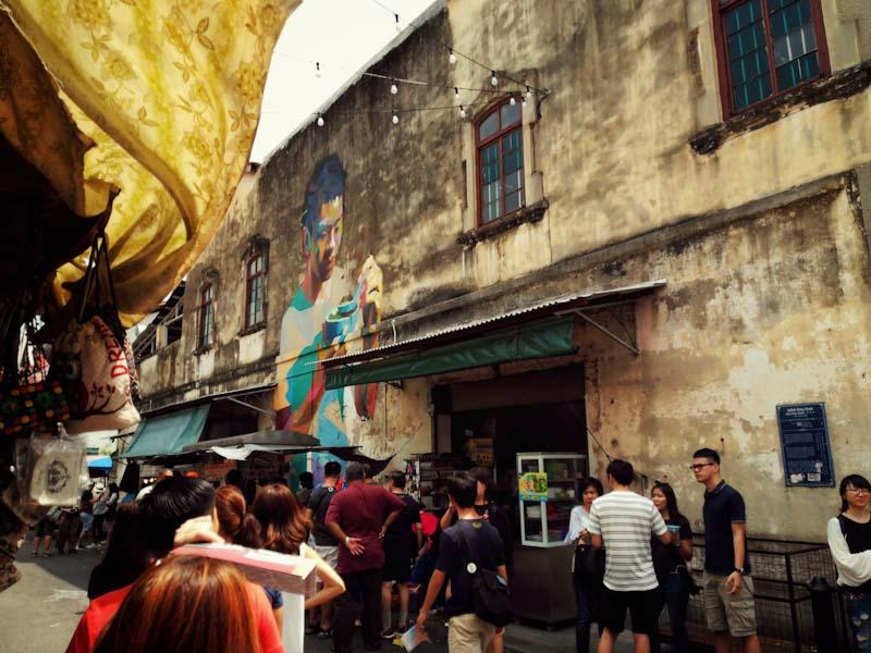 Heritage On a Plate Penang Food Street Art