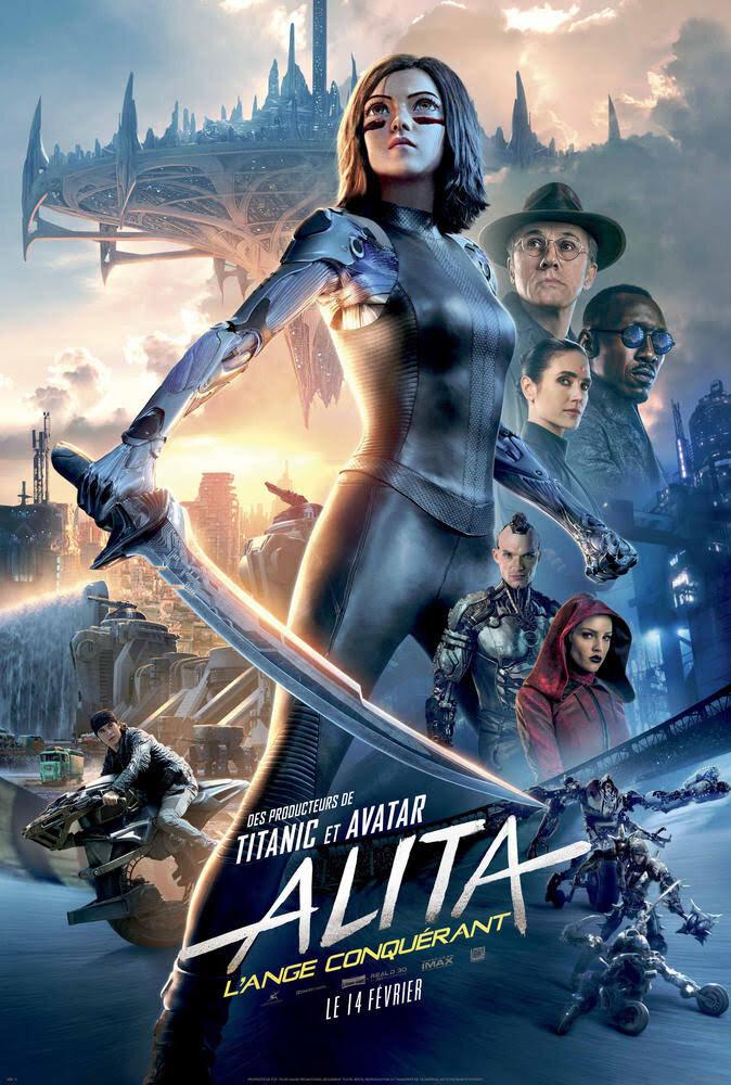 Alita : Battle Angel (2019) - Concpet ArtistDirector : Robert Rodriguez