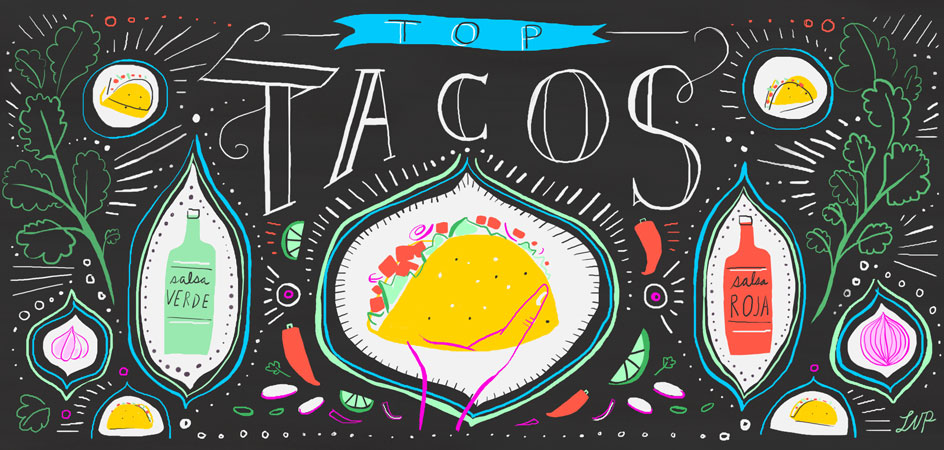 The Best Tacos in Los Angeles - 2014  by The Tasting Table   Read Article