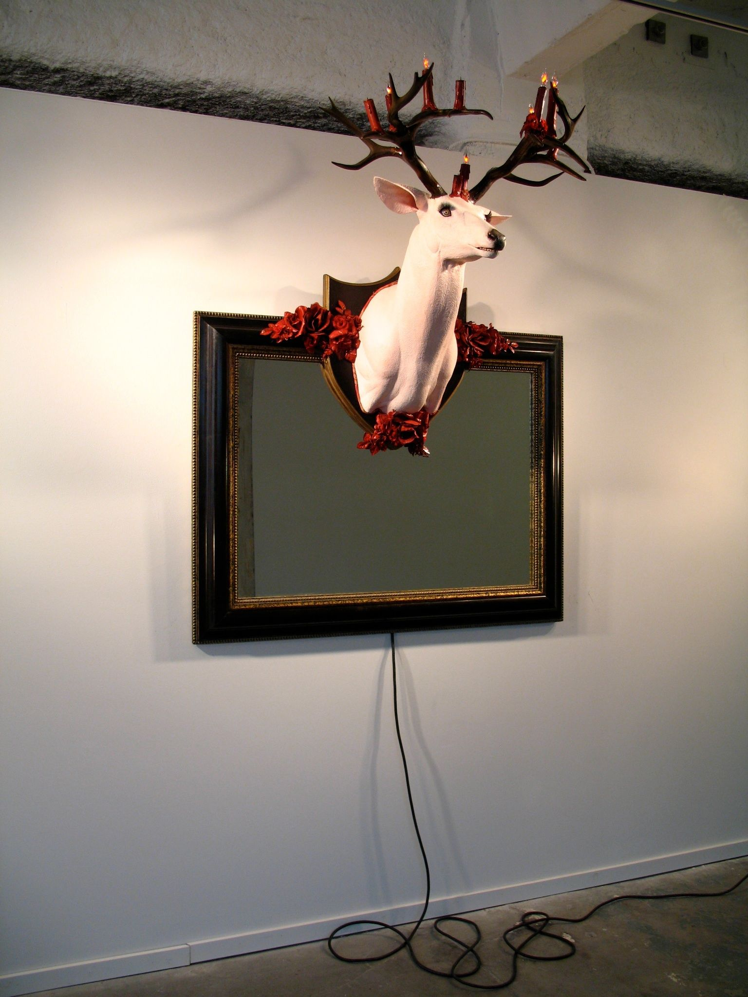 Deer Mirror (from Trophies of the American Home)