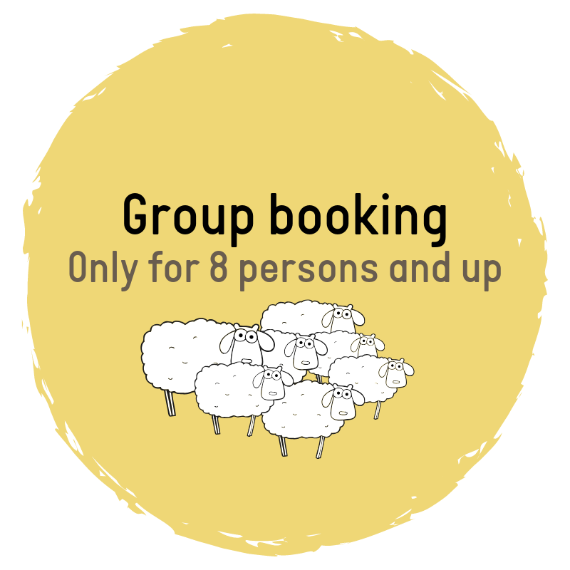 Make a group booking at Sleep in Heaven