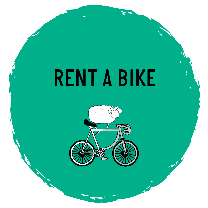 Rent a bike from Sleep in Heaven