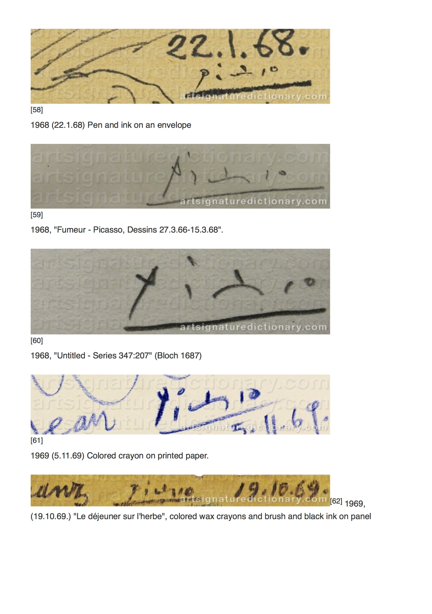 PICASSO, Pablo _ Artist's signatures and monograms, biographies and prices by Art Signature Dictionary13.jpg