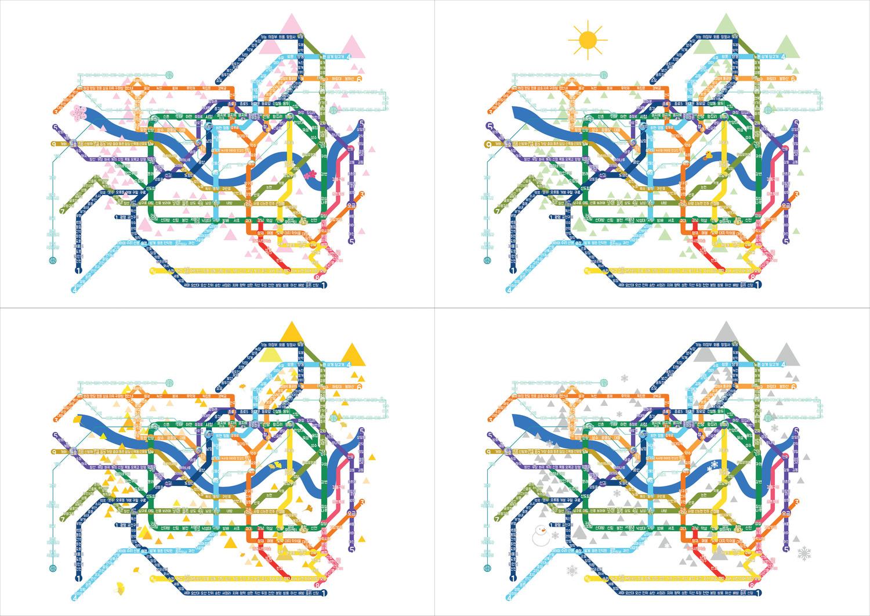 03 Subway-four season