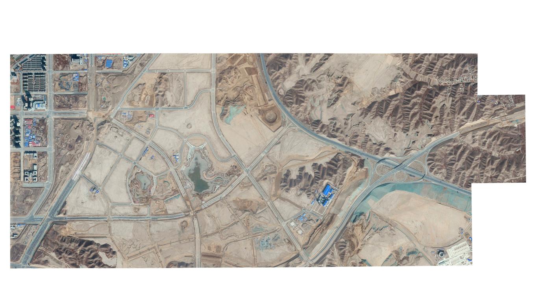 """Almost Automated Landscape of Geopolitical Interest #1, 2019 ©Davide Monteleone. Ed 1/3 250x120cm"