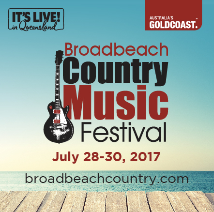 So excited to announce that we will be a part of the  Broadbeach Country Music Festival  28th - 30th July! It's going to be a big one! With a massive line-up including America, Kasey Chambers, & Troy Cassar-Daley!