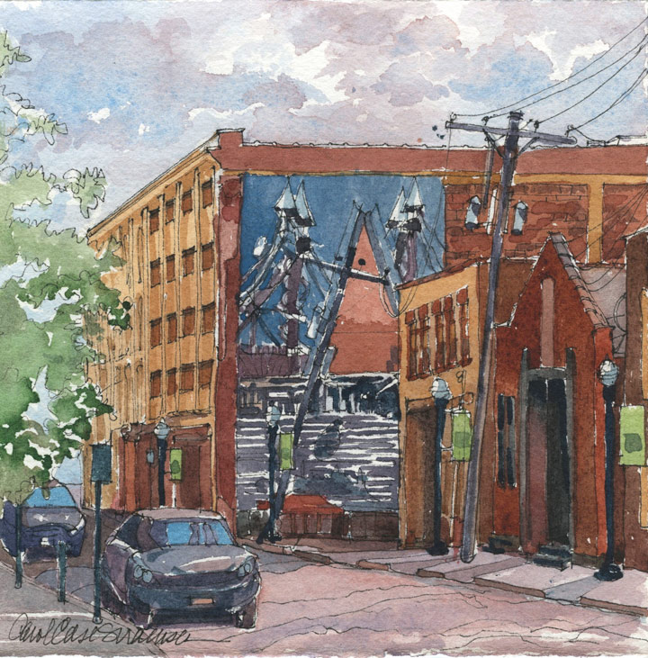Cobblestone Walls, by Carol Case Siracuse