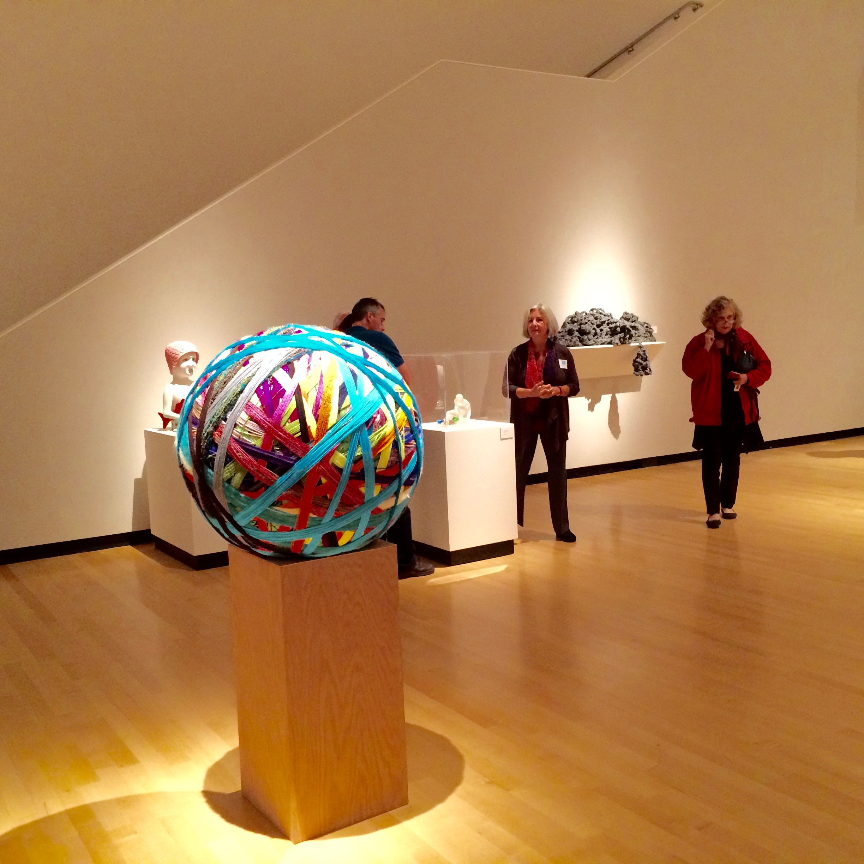Huge ball of yarn by Ani Hoover