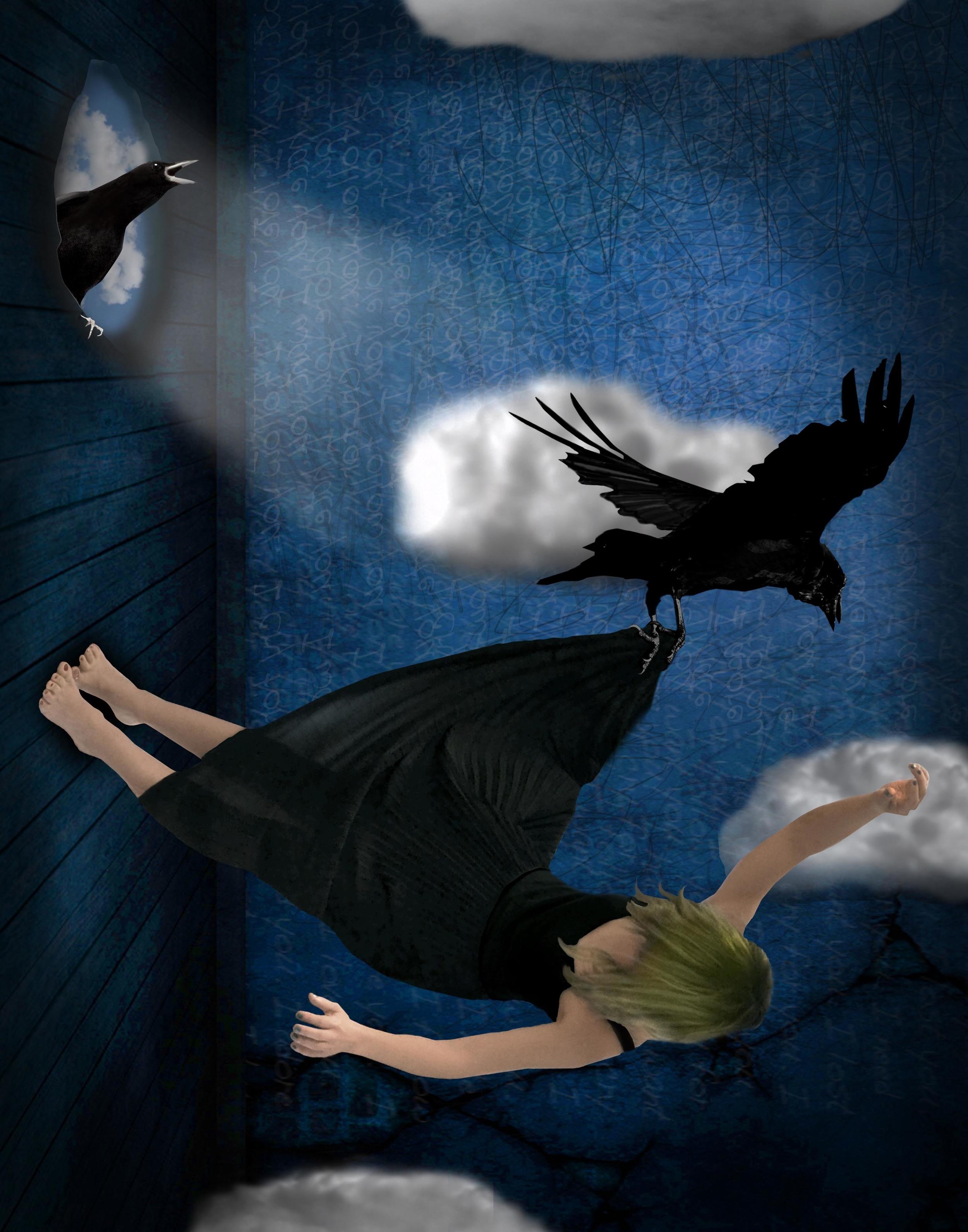 """The Crow Knows Where All the Little Children Go"" by Maria Pabico LaRotonda"