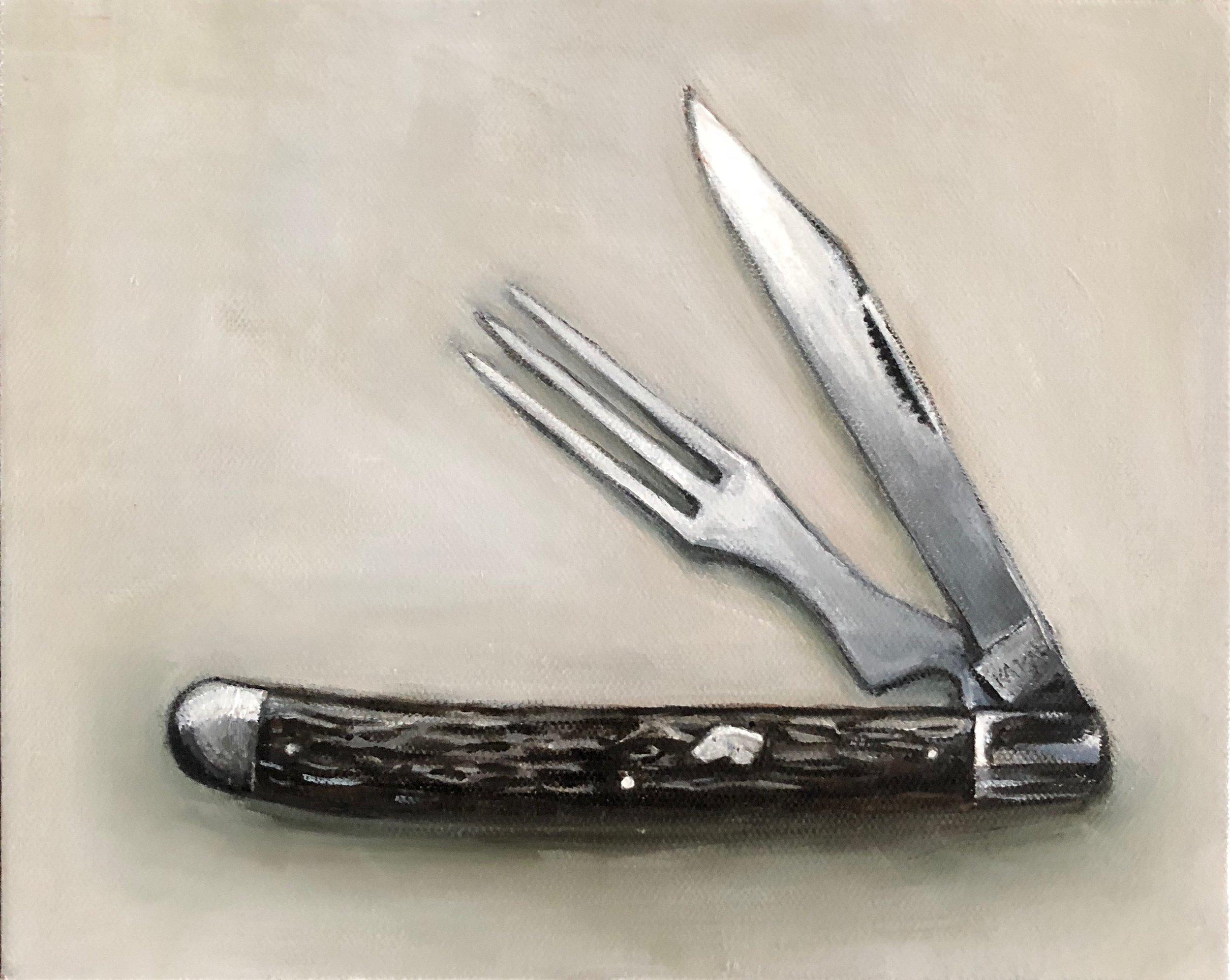 Vintage KA-BAR Knife and Fork