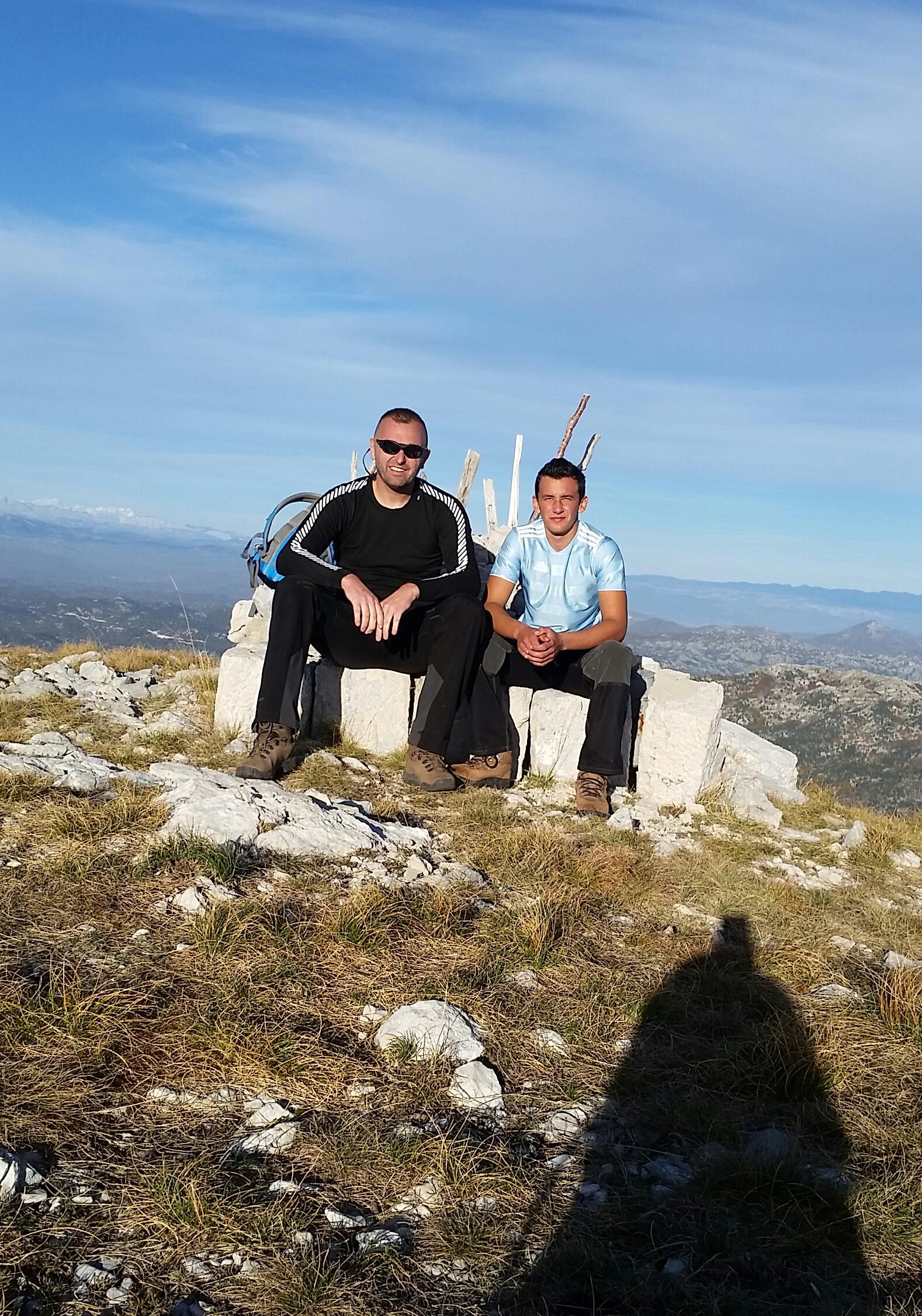 Данко и Милош су се попели и на Јастребицу