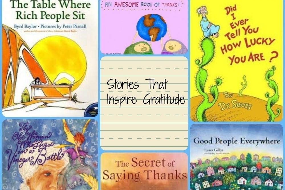 Books that inspire gratitude! -