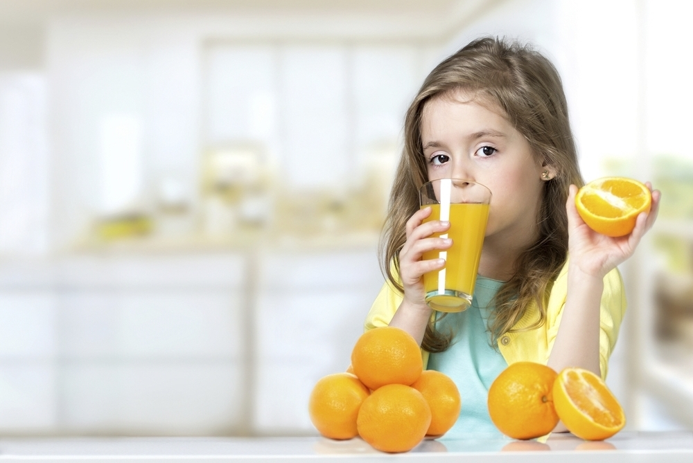 About giving your child juice... -