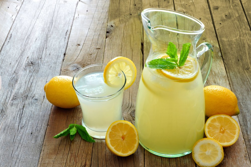 Natural energy drink recipe -