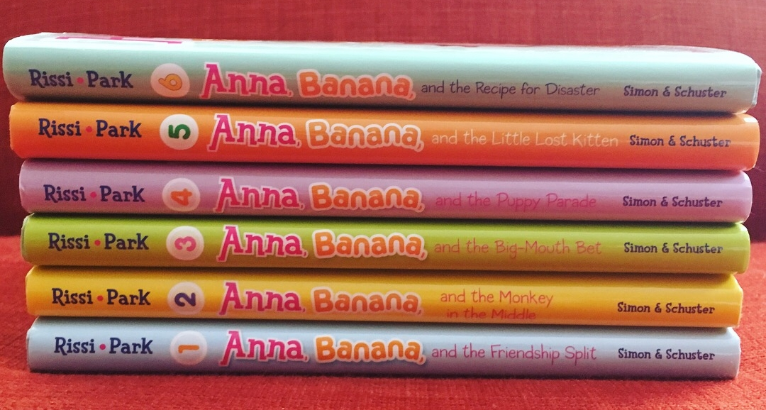 Anna Banana book stack.JPG